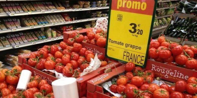 """مدريد """"تستنجد"""" بالمفوضية الأوروبية لوقف """"الزحف"""" الكبير للطماطم المغربية على السوق الاسباني."""