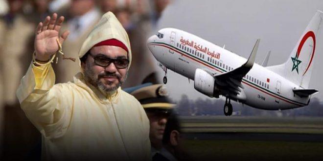 جلالة الملك محمد السادس يصدر تعليماته قصد العمل على تسهيل عودة أبناء الجالية إلى المغرب بأثمنة مناسبة.